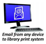 Print from email Icon