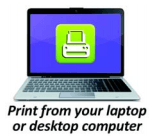 Print from Computer Icon Opens in new window